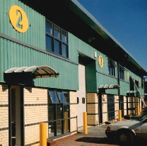 Industrial Units Borehamwood Hertfordshire by WLA Architecture LLP
