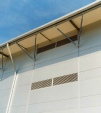 Warehouse Eaves Detail New Haw Surrey by WLA Architecture LLP